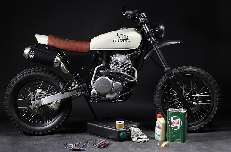 custom honda motorrad